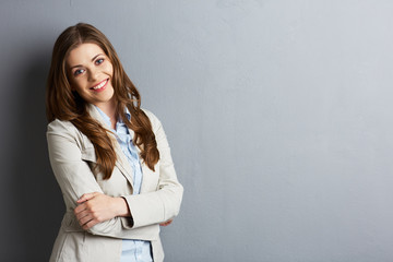 Young business woman portrait.