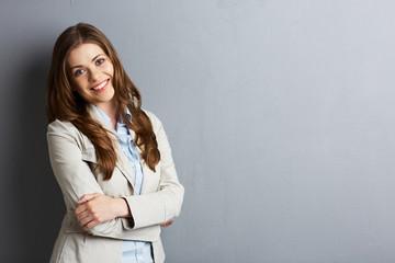 Young business woman portrait.