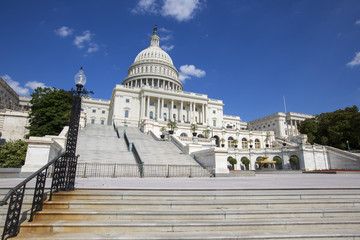 United States Capitol Government building in Washington