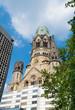 canvas print picture - berlin church