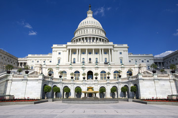 United States Capitol Building Government in Washington