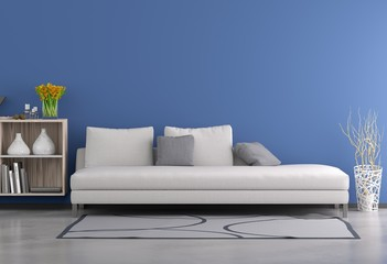 Living Room - Blue
