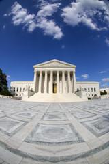 Fisheye photo - Supreme Court in Washington