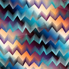 Chevron pattern on gradient background
