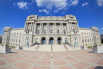 Fisheye photo - Library of Congress in Washington.