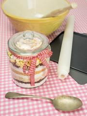 cookie baking ingredients and utensils