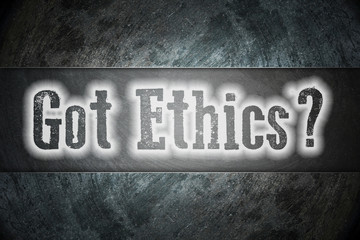 Got Ethics Concept