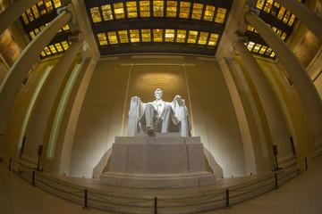 Abraham Lincoln statue, Lincoln memorial