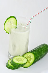 green cucumber coctail