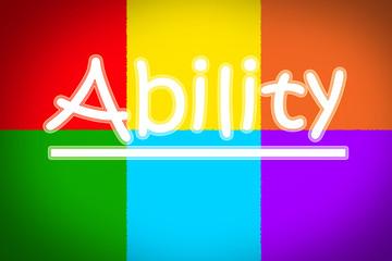 Ability Concept
