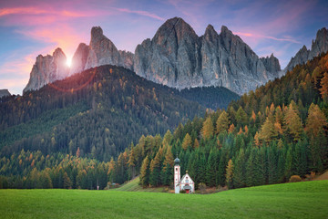 Dolomites.