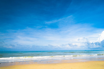 Heavenly Blue Vacation Wallpaper