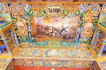 Madrid theme - Plaza de Espana, Seville