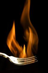 Hot fork