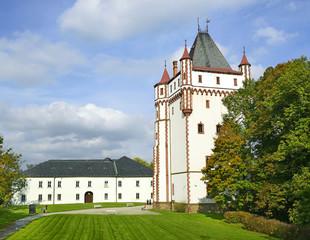 White Tower of Castle Hradec nad Moravici, Czech Republic