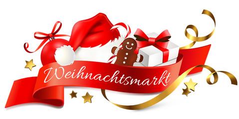 Weihnachtsmarkt - Logo