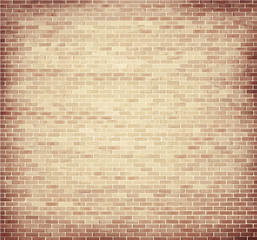 Light brown brick wall texture