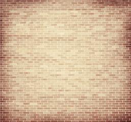 Light brown brick wall texture
