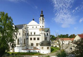 Castle in town Pardubice, Renaissance mansion, Czech Republic