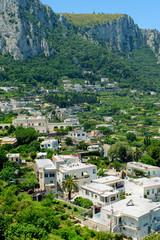 Capri town view