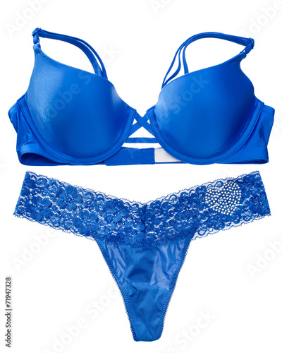 Blue lingerie set - 71947328