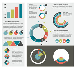 Infographics set elements.