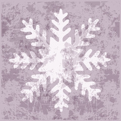 background snowflake ice crystal