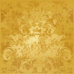 background golden pattern