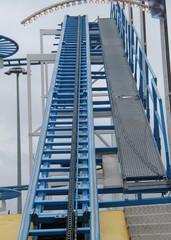 The Driving Chain of a Fun Fair Amusement Ride.