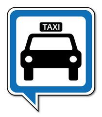 Logo taxi.