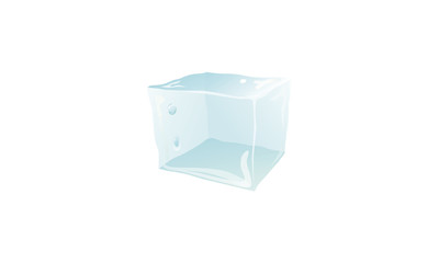 block of ice-кубик льда