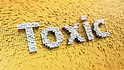 Pixelated Toxic