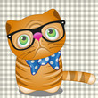 Hipster Cat