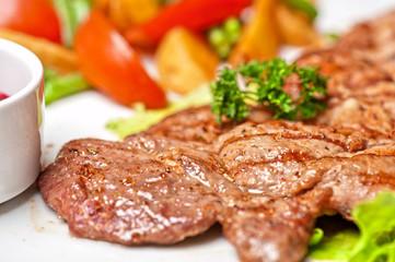 Beef chop