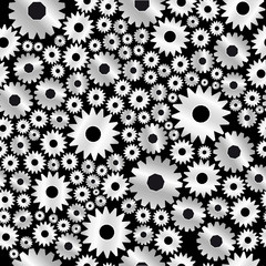 background with gears pattern