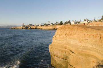 San Diego cliffs