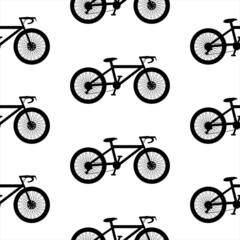 Bike symbol  seamless pattern