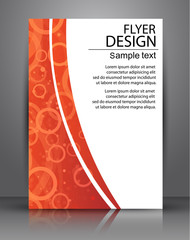 Flyer design - Vector business, poster Template