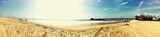 Californian relaxing beach at sunset - 71952120