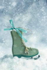Ice Skate Decoration