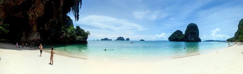Hat Phra Nang Beach near Krabi, Thailand