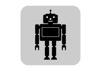 Robot vector icon