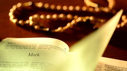 look through of bible,real time