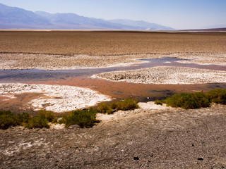 Small creek in Death Valley