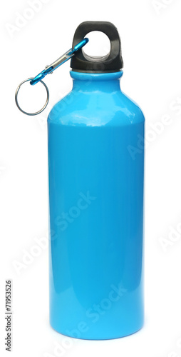 Blue water bottle - 71953526
