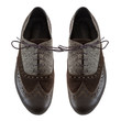 canvas print picture - Male tango shoes