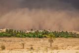 Sandstorm in Gafsa,Tunisia