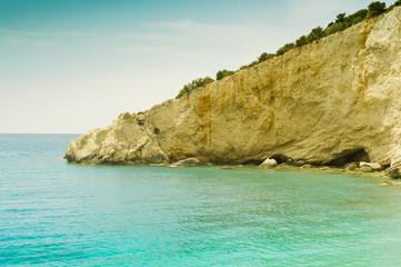 Rocky mediterranean coast