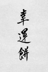 Chinese Calligraphy Fortune Cookie
