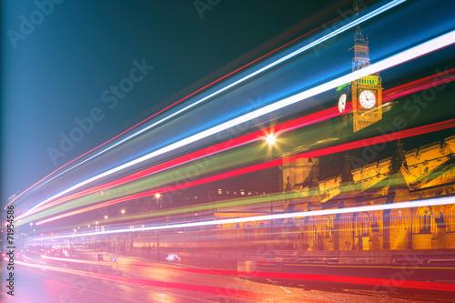 Busstreiflichter London
